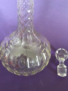 Sherry Cristal decanter