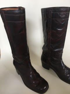 HIGH LEATHER BOOTS