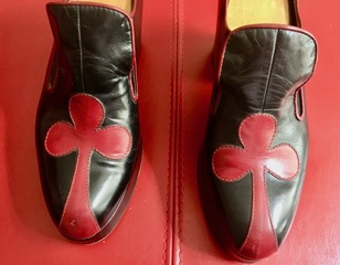 VINTAGE PLATFORM MEN SHOES